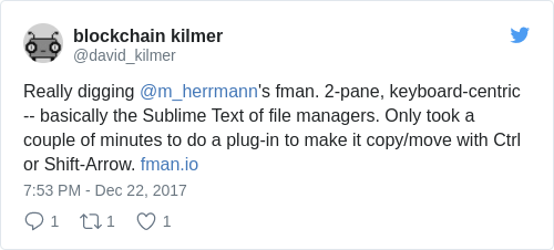 fman Blog: Behind the scenes of a cross-platform file manager