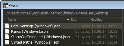 fman Settings plugin files